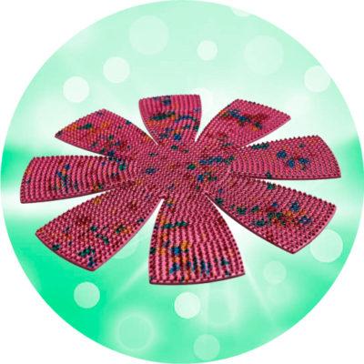 Аппликатор-Ляпко-Ромашка-диаметр-31-см-шаг-игл-5,0-мм