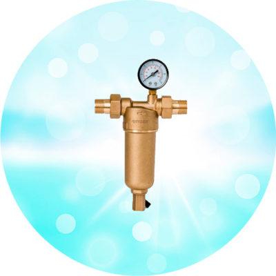 Магистральный фильтр Бастион 7508165201 с манометром