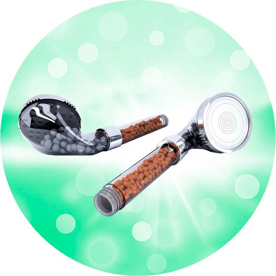 Душ-ионизатор-Smarald-из-полудрагоценных-минералов