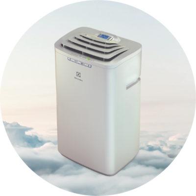 Мобильный кондиционер Electrolux EACM 10 HR N3 ART STYLE