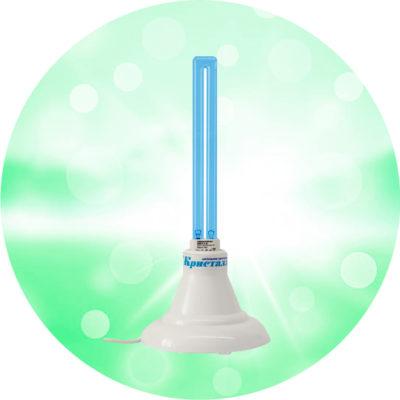 Облучатель бактерицидный Кристалл 1