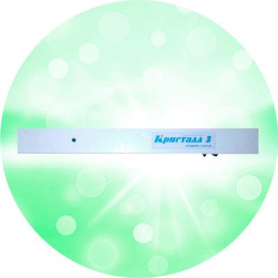 Облучатель рециркулятор настенный Кристалл 3
