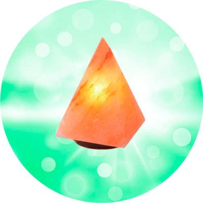 Солевая лампа Пирамида Малая 2 2