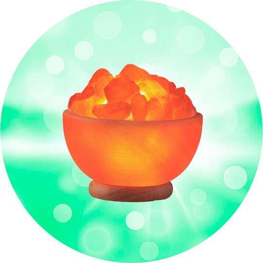 Соляная лампа Wonder Life Огненная ваза