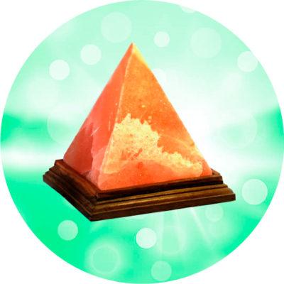 Соляная лампа WonderLife Пирамида