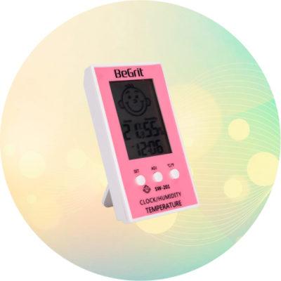 Термогигрометр cx-201 фото
